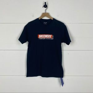 Skechers Graphic Logo T-Shirt NWT Size S